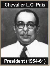 President (1954-61)