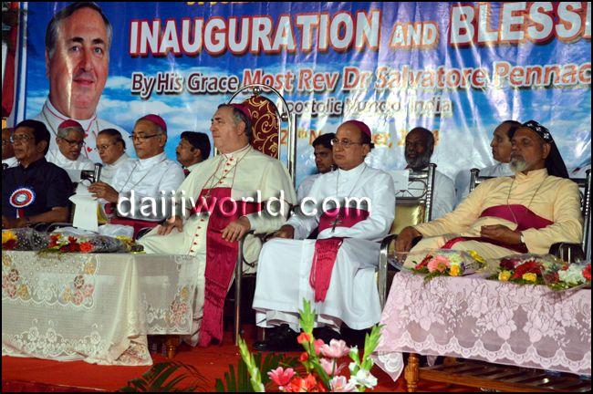 Mangaluru: Apostolic Nuncio inaugurates St John Paul II Shrine at Bajpe