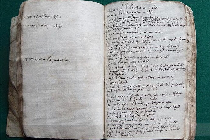 Let there be light: Handwritten draft of King James Bible reveals the secrets of its creation