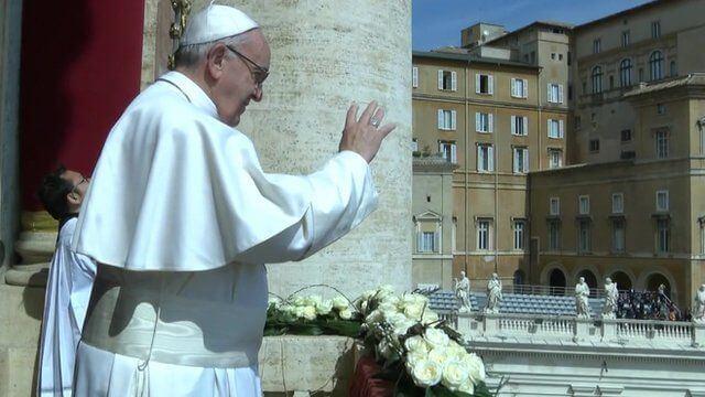 Easter 'Urbi et Orbi' Message of Pope Francis